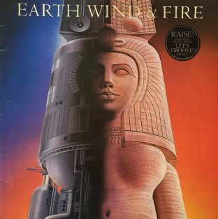 Earth, Wind & Fire ‎- Raise! (LP) (G+/G+)